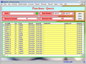 Purchase Query